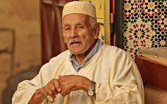 Anziano incontrato per le vie di Fes