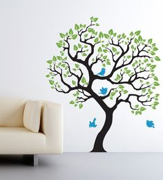 Wall Decal Baby Nursery Tree wall sticker Size by CherryWalls, $89.00