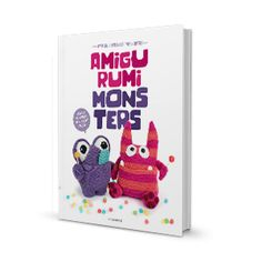 'Amigurumi Monsters' book // Dim the lights, bring out your flashlight and quickly check underneath your bed: this new book will reveal the most adorable amigurumi monsters!