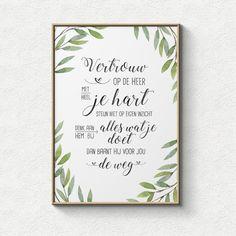 """[vc_row][vc_column][vc_column_text]Poster met de tekst: 'Vertrouw op de Heer met heel je hart, steun niet op eigen inzicht. Denk aan hem bij alles wat je doet, dan baant hij voor jou de weg.'[/vc_column_text][/vc_column][/vc_row][vc_row][vc_column][templatera id=""""540""""][/vc_column][/vc_row]"""