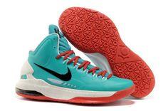 1cd292e5e988 Nike Zoom Kevin Durant s KD V Basketball shoes Green White Red Kobe Shoes