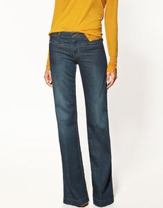 Love these jeans. I would like them even better if I were 30 lbs lighter and 7 inches taller.