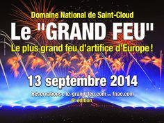 Nos Chambres d'Hôtes au bord du lac d'AnnecyLe Grand Feu de Saint-Cloud le 13 septembre 2014