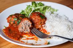 receta de albondigas en salsa de tomate