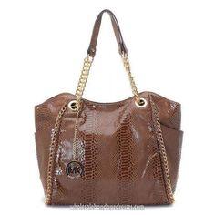 aa12d157ff9c Michael Kors Handbags MK 19 Series Totes Brown WBMKHB150340 Michael Kors  Sale, Cheap Michael Kors