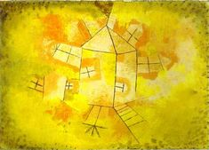 Paul Klee Revolving House hand embellished reproduction on canvas by artist Canvas Artwork, Canvas Art Prints, Paul Klee Art, Canvas Art For Sale, Art Calendar, Cubism, Art Reproductions, Abstract Expressionism, Art Lessons