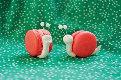 Macaroons. Snail Style.