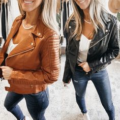 Watch Out Vegan Leather Moto Jacket, Free Shipping! #me #lv #classiclook #kancanjeans #wiw #contest #selfie #boutiqueshopping #freeshipping #blackleggings Spring Outfits, Winter Outfits, Vegan Leather Jacket, Daily Look, Moto Jacket, Alternative Fashion, Classic Looks, Fashion Addict, What I Wore