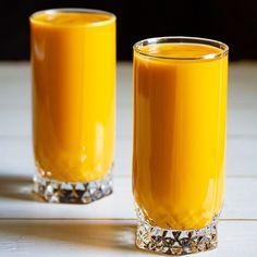 Mango Recipes Indian, Mango Dessert Recipes, Milkshake Recipes, Mango Panna Cotta, Mango Kulfi, Mango Milkshake, Mango Ice Cream, Pillar Candles, Tableware