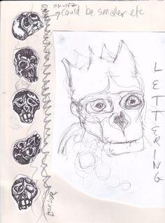 head w. City Art, Image
