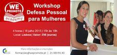 Salto Alto: Vencedor Passatempo Workshop Defesa Pessoal para M...