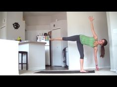 Intermediate Yoga for a Beach Bod - 30 minute Yoga class - YouTube