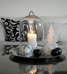Christmas Coffee Table Decor Idea | Anette Willemine.