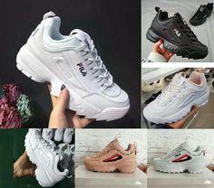 new concept 01458 8f681 Chaussures femme -  Chaussures  femme FILA Femmes Baskets Sport Fitness Gym  Baskets Chaussures de