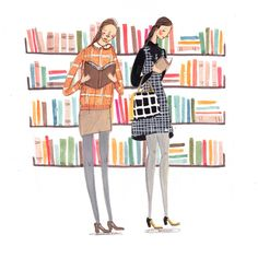 Fashion Illustration - Orla Kiely - Emma Block Illustration