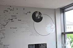 Décors muraux et vitrophanie pour le cabinet de chirurgie Clinique de la Colline à Genève