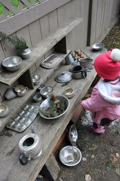 Stumping in the Mud…cooking with winter materials ≈≈