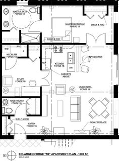 Incredible Design A Floor Plan Method For Sophisticated Home: General  Apartment Design A Floor Plan Involving Toilet Room Storage Master Bed.