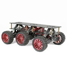 Cheap raspberry pi, Buy Quality platform metal directly from China car chassis Suppliers: Metal Robot Cross-country Chassis DIY Platform for Arduino robot WIFI Car Off-road Climbing Raspberry Pi color black Arduino Wifi, Arduino Bluetooth, Arduino Programming, Rc Tank, Robotics Projects, Arduino Projects, Electronics Projects, Diy Projects, Cross Country