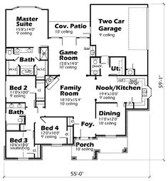 House Plans By Korel Home Designs 2073 Sq Ft
