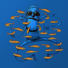 Fishes on Behance