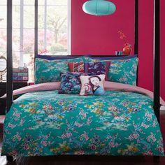 Butterfly Home by Matthew Williamson Designer green Japanese Chinoise bedding set- at Debenhams.com