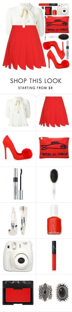 """#965 Mimi"" by blueberrylexie ❤ liked on Polyvore featuring Miu Miu, Clare V., Christian Dior, Leonor Greyl, Adia Kibur, Essie, Fujifilm, NARS Cosmetics and New Look"