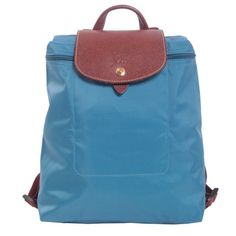 Longchamp Backpacks (6920 RSD) ❤ liked on Polyvore featuring bags, backpacks, azzurro, rucksack bag, blue backpack, longchamp bag, longchamp backpack y longchamp