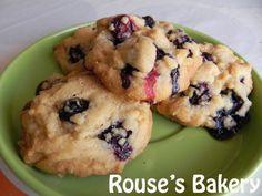 Cookies de arándanos y chocolate blanco, foto 1