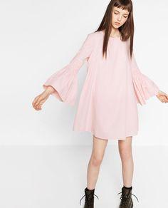 STRIPED JUMPSUIT DRESS-DRESSES-WOMAN | ZARA United States