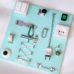 Busy board /Бизиборд by BabyBoardsRu on Etsy