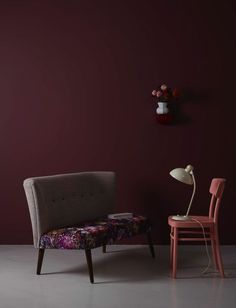 Modne kolory we wnętrzach - marsala, bordo i burgund, fot. mat. pras. Pinterest