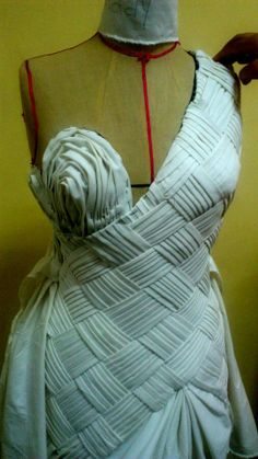 Draping... ths is a unique piece i will like to try... much work