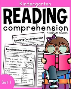 Reading comprehension passages - great for kindergarten - first grade!
