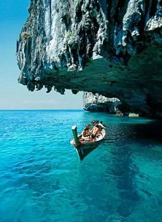 Phi Phi, Thailand. Another travel destination! I'd like to spend at least a month in Thailand at some point.