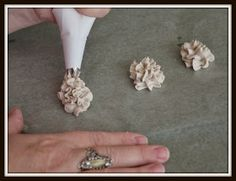 Paperclay flowers