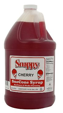 Snappy Popcorn Snappy Snow Cone Syrup, Cherry, 128 Fluid Ounce: Great tasting cherry snow cone syrups on your snow cones, shaved ice or for shake flavoring. Sno Cone Syrup, Sno Cones, Snappy Popcorn, Colored Popcorn, Cherry Syrup, Gourmet Recipes, Delish, Nutrition, Snow