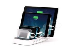 iPad charging station. Great tool to keep your home and classroom technology organized, and read to use!