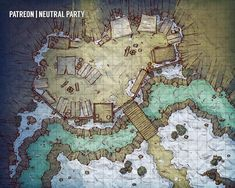 Post with 5004 votes and 172111 views. Tagged with dnd, pathfinder, tabletop games, dungeons and dragons, battlemap; Shared by UrzasMine. 50 Battlemaps by Neutral Party Dungeons And Dragons Homebrew, D&d Dungeons And Dragons, Fantasy City, Fantasy Map, Pathfinder Maps, Rpg Map, Adventure Map, Map Pictures, Dnd Monsters