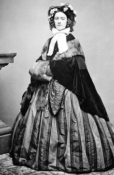 english fashion 1860s -Mrs Twig