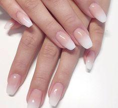 French nails natural - French nails natural You are on . - French nails of course – French nails of course You are on … – - Ombre Nail Designs, Nail Art Designs, Nails Design, Fingernail Designs, Bailarina Nails, Cute Nails, Pretty Nails, Gel Nails, Acrylic Nails