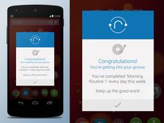 Android Popup UI