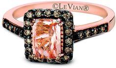 Le Vian Chocolatier Le Vian 14ct Strawberry Gold and Peach Morganite ring