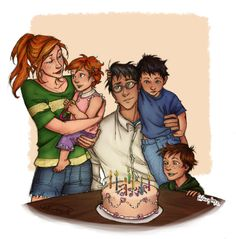 Happy Birthday Harry!  Lineart by the fantasic Burdge.