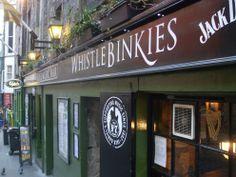 Whistlebinkies Live Music Venue in the historic heart of Edinburgh Old Town in Scotland