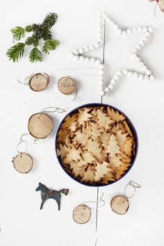 Petits biscuits sapins