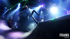 Nightclub skateboarding at Tavastia Club. Helsinki Finland. We were there to film New Frame issue 2 extreme movie #skaboarding