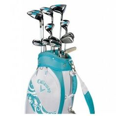 Love the color of this Callaway Ladies Golf Clubs!