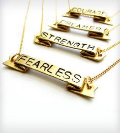 Positive Mantra Necklace