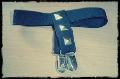 Holders For Socks/Garters From Old Suspenders